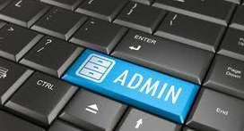 Admin Come Receptionist