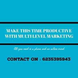 പുതിയതായി ആരഠഭിച്ച Muliti level marketing from an experienced compny