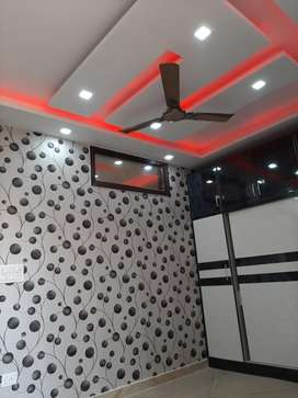 Newly constructed 1 bhk flat with bike parking beautiful work 90% loan