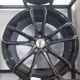 VELG mobil racing ring19 HSRwheel PCD 5×114,3 cicilan 0% DP 10%