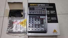 Audio Mixer Behringer Xenyx QX1002USB