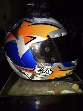 Jual helm full face merk MDS original size L