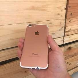 iPhone 7 128GB Rosegold Second Ex Inter Original
