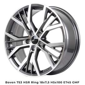 BOVEN 754 HSR R18x 75 H5X100 ET45 bmf