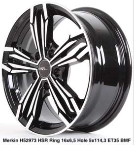 all new MERKIN 52973 HSR R16X65 H5X114,3 ET35 BMF