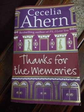 Thanks for memories- Cecelia Ahern