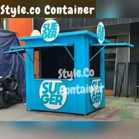 DISKON TAHUN BARU   BOOTH SEMI CONTAINER   CONTAINER FRENCHISE   BOOTH