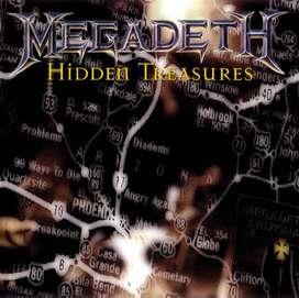 CD Megadeth hidden treasure original us press