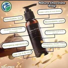 Sabun coklat (natura chocolate soap )