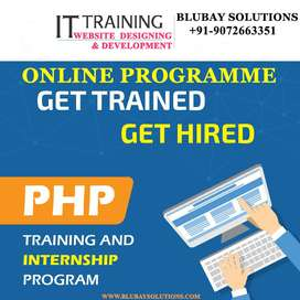 ONLINE PHP TRAINED PROGRAMME( Freshers only)