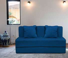 AARAHAN NEW Sofa Cum Bed 6'x3' Ft with washable covers and Two Pillow