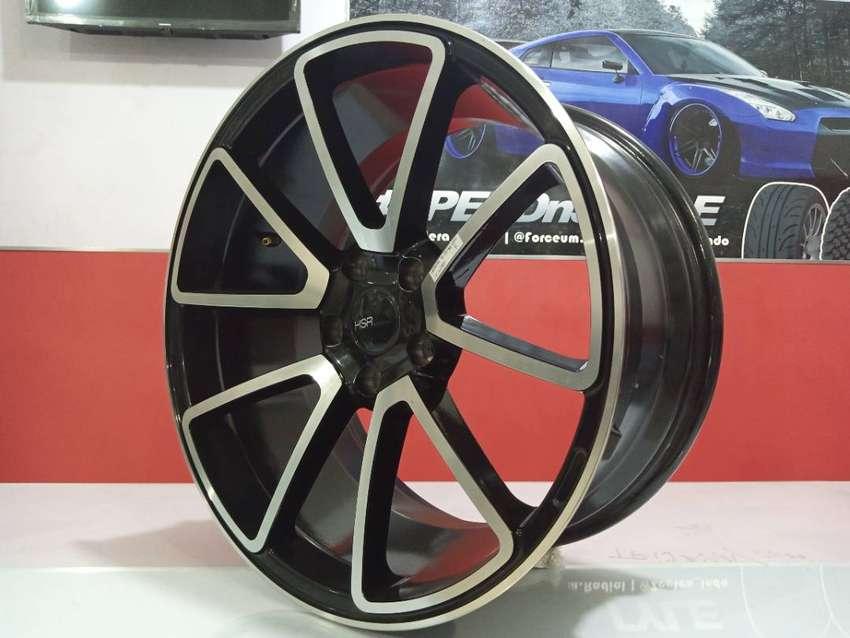 Velg mobil Crv Xpander Inova Rush Terios Civic dll Ring 18 lebar 8-9