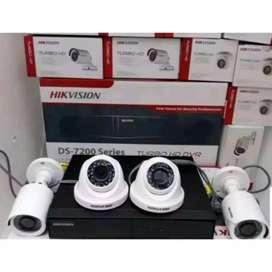 Pasang alat keamanan kamera CCTV paket lengkap pusat pemasangan murah
