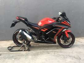 Ninja 250R 2015/2016 Spesial Edition Gress Like New Top Condition