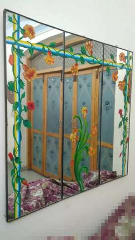 Hand Painted Mirrors