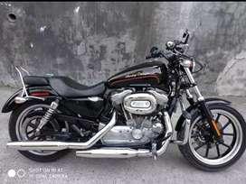 Dijual Harley Davidson Sportster 883 tahun 2011 bukan Ninja/BMW/Ducati
