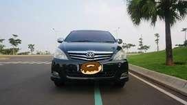 Toyota Innova G Luxury AT 2010, Hitam DP Murah, Free smart tv