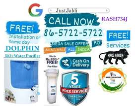 RASH734J WATER PURIFIER TV AC WATER FILTER RO FREE PRE FILTER AND FITT