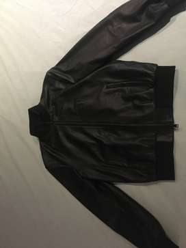 Emporio Armani Lambskin Leather Jacket