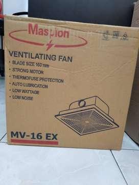 kipas angin hisap exhaust fan atap maspion mv 16ex -160mm (jantung acc