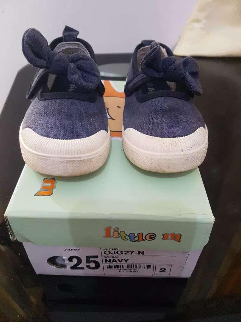 Sepatu anak Little M uk 25 bahan denim