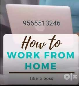 Data entry work at your home English typing job