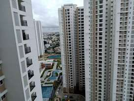 New 3 bhk in prestige falcon city with two car parking and club house