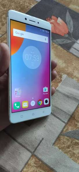 Lenovo K6 note with charger