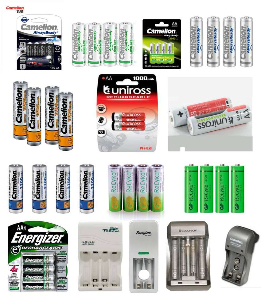 (Cash On Delivery) Rechargeable Cell AA AAA And Charger 0