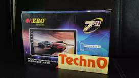 Tv mobil Nero 7 in mp4 usb YouTube double din headunit for paket sound