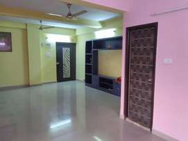 3BHK Semifurnished Flat on Rent frn 1st March @Rs 17000 including Mntc