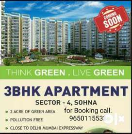 For sale 3bhk apartments booking start