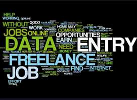 data entry job part time