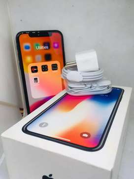 APPLE IPHONE X 256GB AVAILABLE EXCELLENT WITH WARRANTY