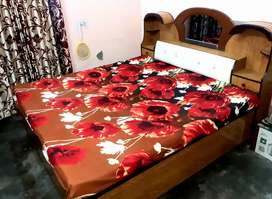 Double bed with box new design