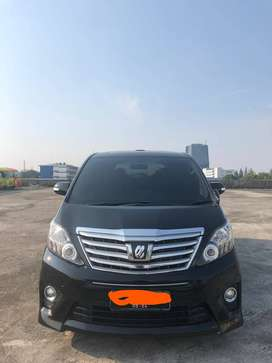 Alphard Welcab 2.4  th 2014Wellchair bisa turun jd kursi roda