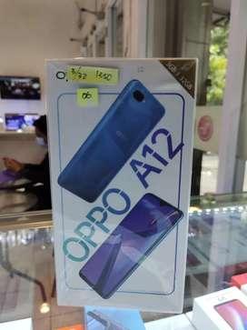 Oppo A12 3/32 layar lebar baterai besar mulus dijual murah