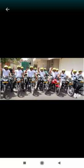 Free joining Ola biker Surat . Only 17 vacancies left.