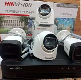 》PREMIUM《 Paket CCTV 2 Mp (FHD) dan 5 Mp (UHD) Garansi Resmi s/d 2 Thn