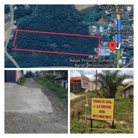 Dijual Tanah Lokasi Strategis Kabupaten Dharmasraya