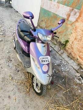 TVS Scooty pep plus 2011 last model km 15000