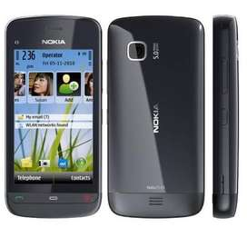 Nokia C5-06 Symbian Touch Mobile || New Box Pack Stock Available