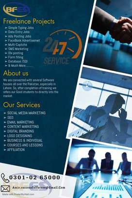 Part time work online for the home based persons