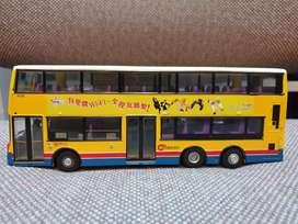 City bus first bus die cast super keren