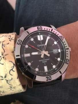 Casio Enticer Radium Mens Watch- Brand New