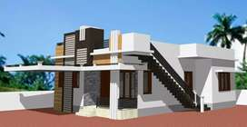 East facing 2bhk newly built independent house