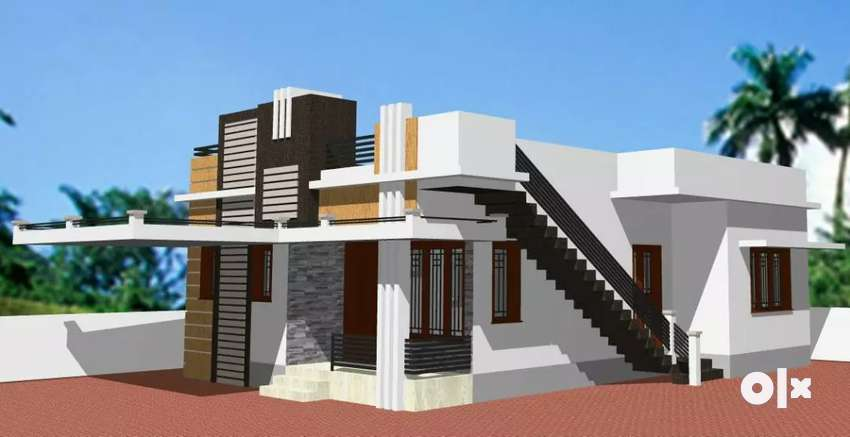 East facing 2bhk newly built independent house 0
