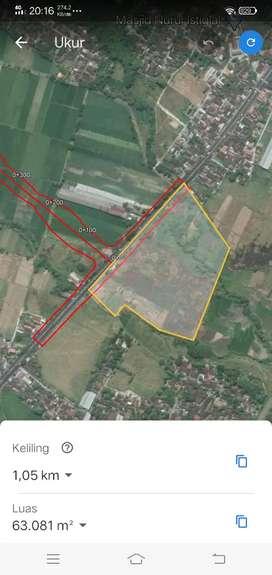 Jual Cepat Tanah Zona Industri