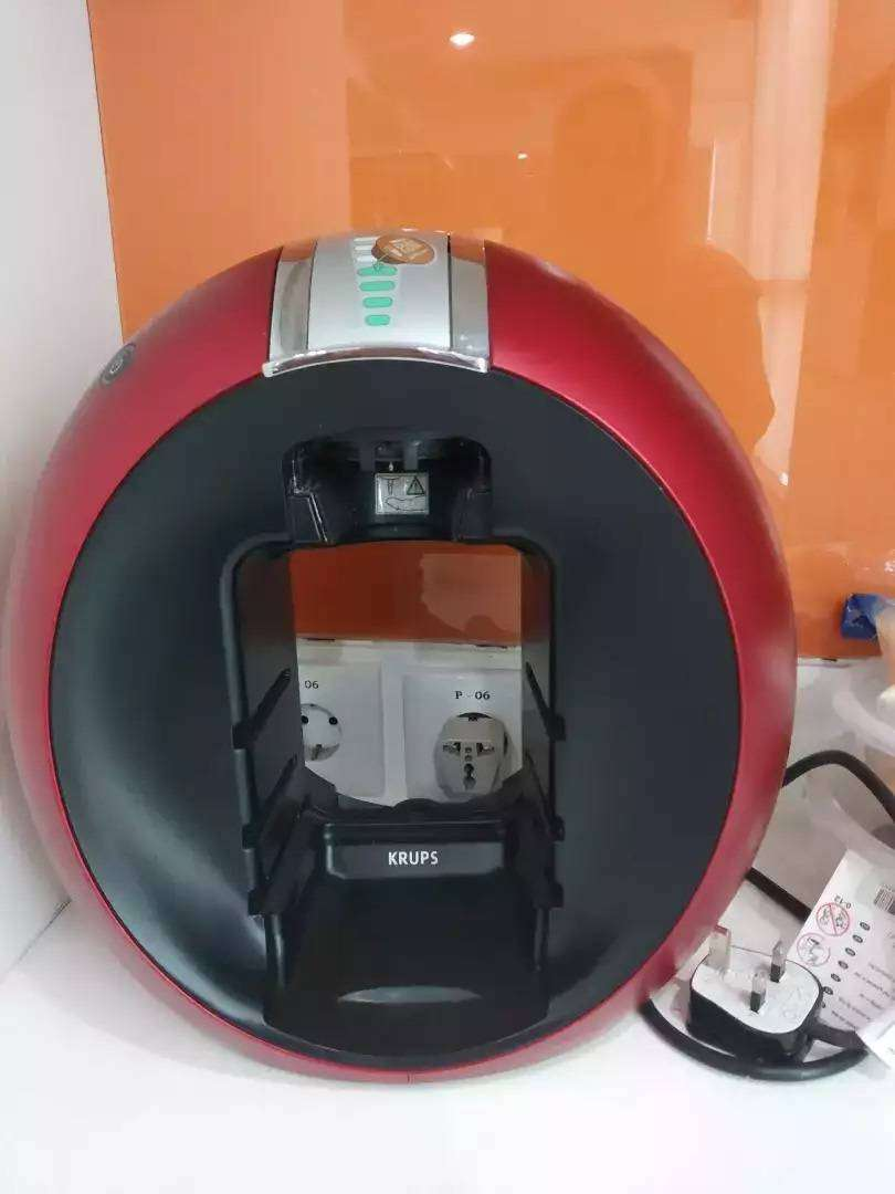 Dolce Gusto Circolo Automatic Red 0