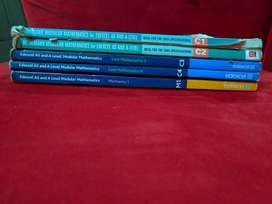 Edexcel Maths AS Level and A2 Books.